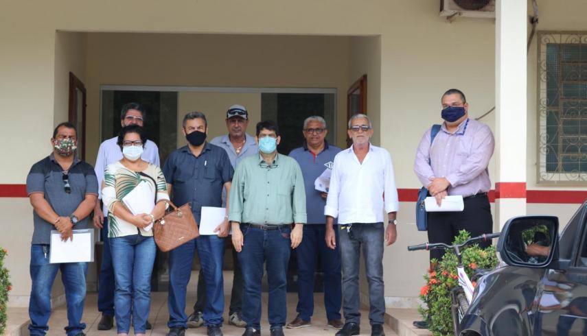 Sedeme realiza reunião com secretários do município de Tailândia para discutir a obras da Ferrovia do Pará